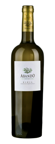Bottle of Abando White Barrel Fermented