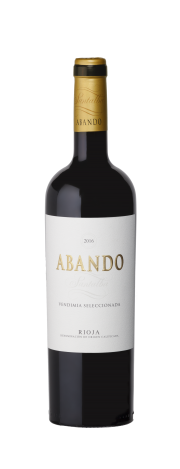 Bottle of Abando Selected Harvest