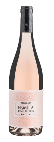 Bottle of Ermita San Felices Rosé