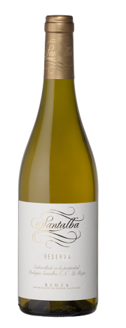 Bottle of Santalba Blanco Reserva