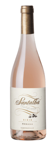 Bottle of Santalba Viña Hermosa Rosé